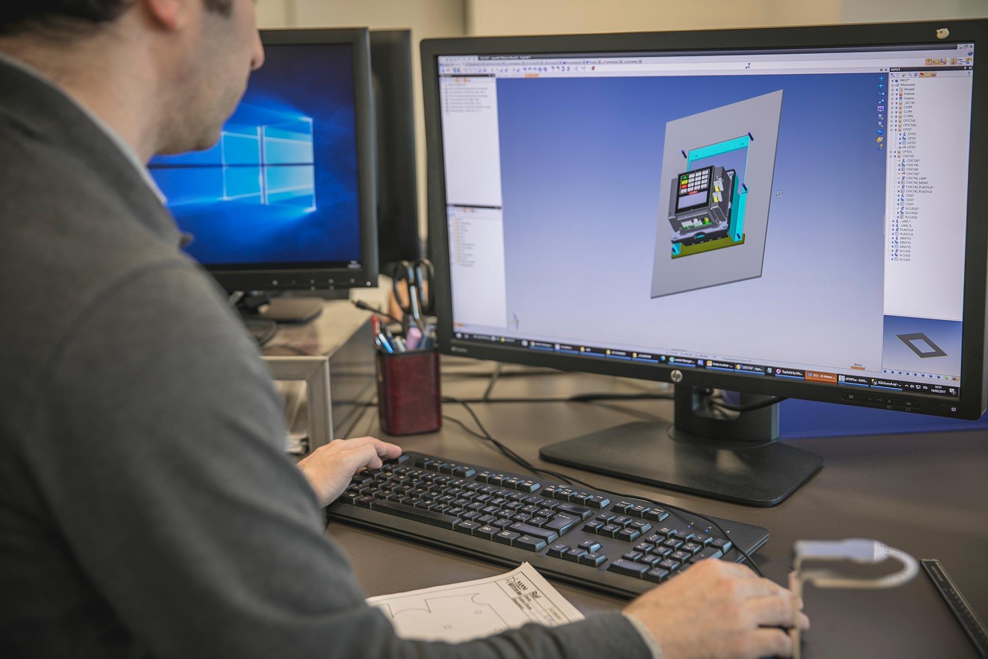 Nanni Ottavio Savignano sul Rubicone lavorazioni progettazioni 3D